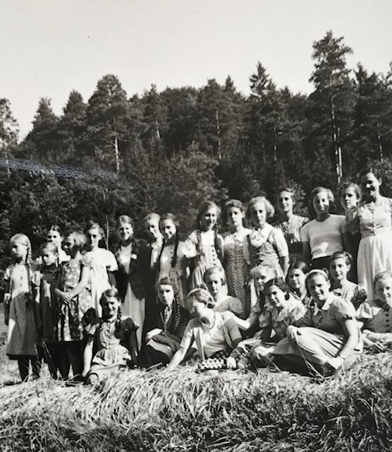 Foto: Kloster Beuron, 1937