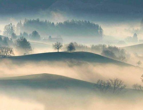 Wie zäher Nebel