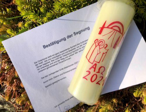 """Segnung mit """"Echtheitszertifikat"""""""