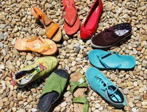 Der Schuh mit dem Loch